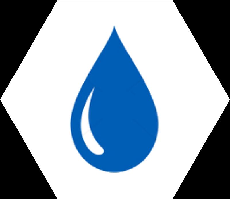 drop white blue m